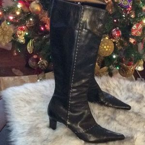 Bally💞FREIRE UDBG genuine leather 💞high boots